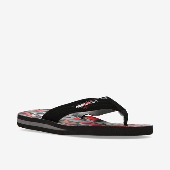 Chanclas Playa Hombre Negras Nicoboco Docemil