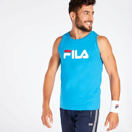 Camiseta Tirantes Hombre Azul Fila Eagle