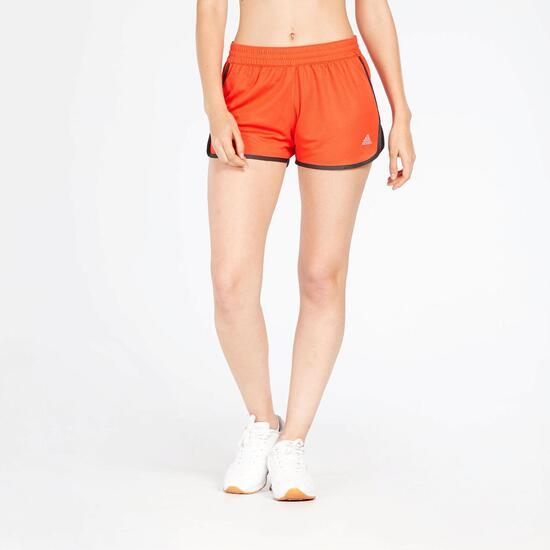 Pantalón Corto Rojo Mujer Adidas