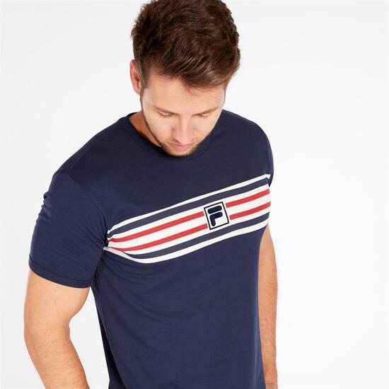 FILA BRUNO Camiseta Marino Hombre