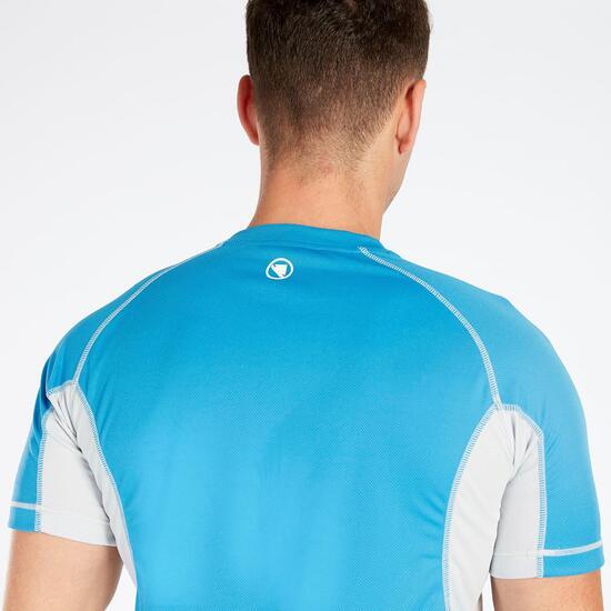 Camiseta Ciclismo Azul Marino Hombre Endura
