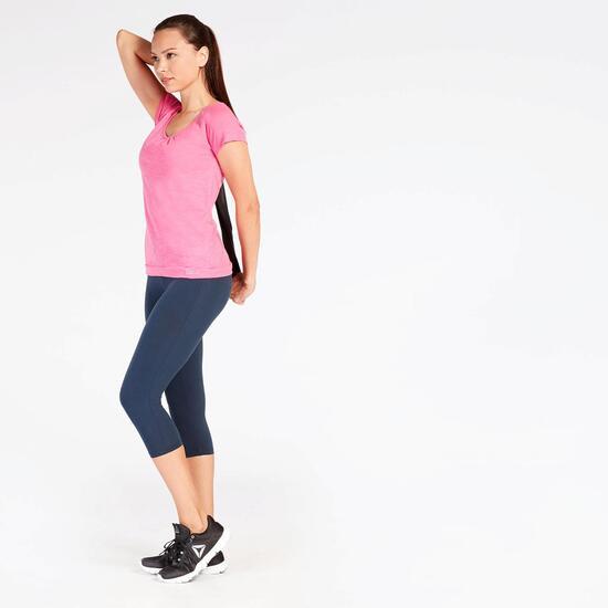 Camiseta Yoga Rosa Mujer Ilico