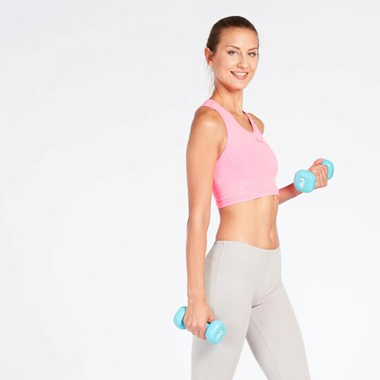 Top Fitness Rosa Mujer Ilico Basic