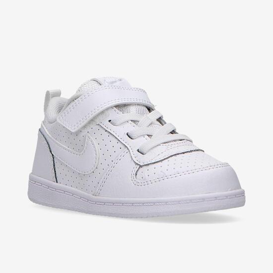Zapatillas Nike Court Blancas Niño (21-27)