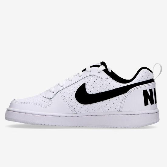 Zapatillas Nike Court Blancas Niño (36.5-39)