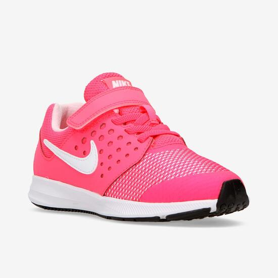 Zapatillas Running Niña Nike Downshifter 7 Rosa Blanco