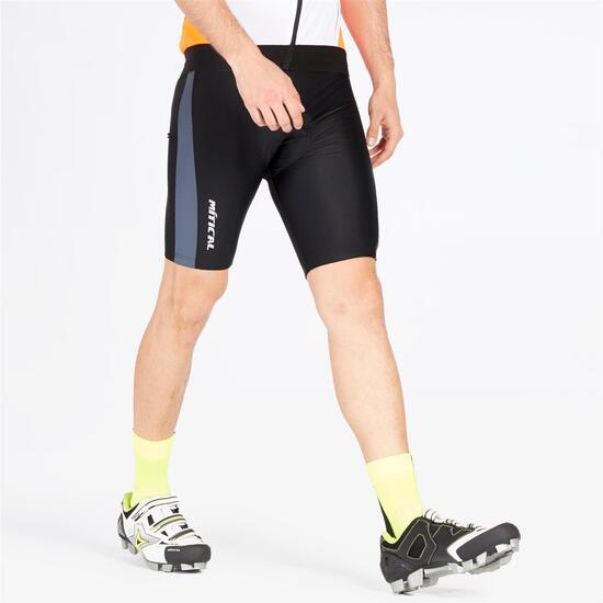 Culotte Ciclismo MÍTICAL PLATA Negro Hombre