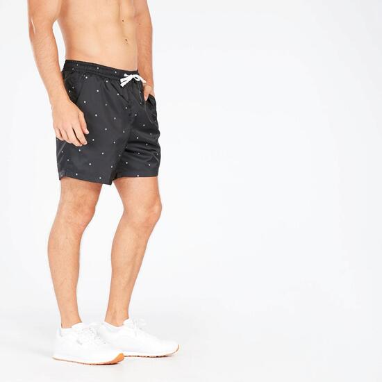Pantalón Corto Negro Blanco Hombre Nike