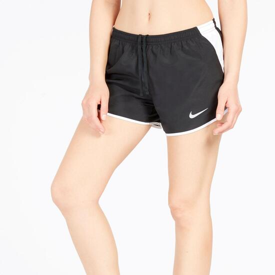 Pantalón NIKE Corto Running Negro Mujer