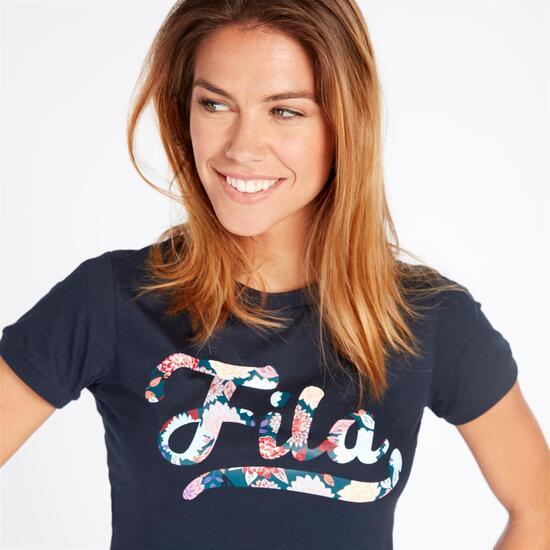 FILA RASPERRY Camiseta Marino Mujer