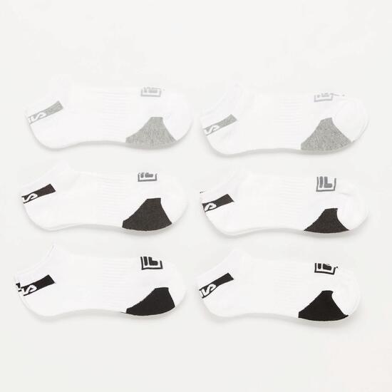 Pack de Calcetines Fila Blancos Junior