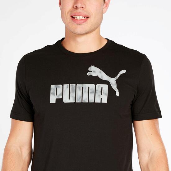 Camsieta Negra Puma Hombre Puma Hero