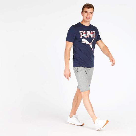Camiseta Hombre Puma Azul Marino