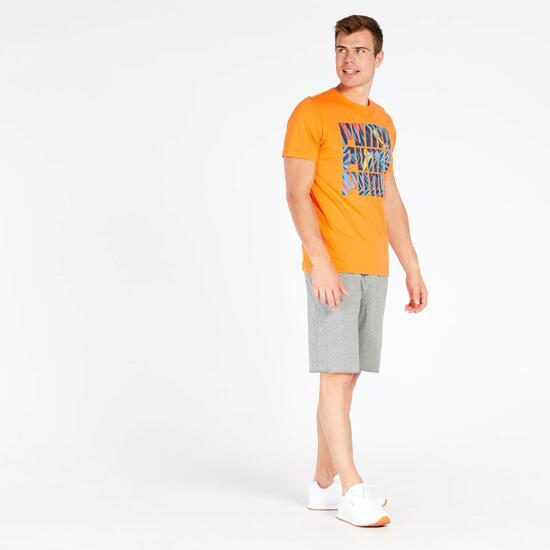 Camiseta Hombre Puma Naranja