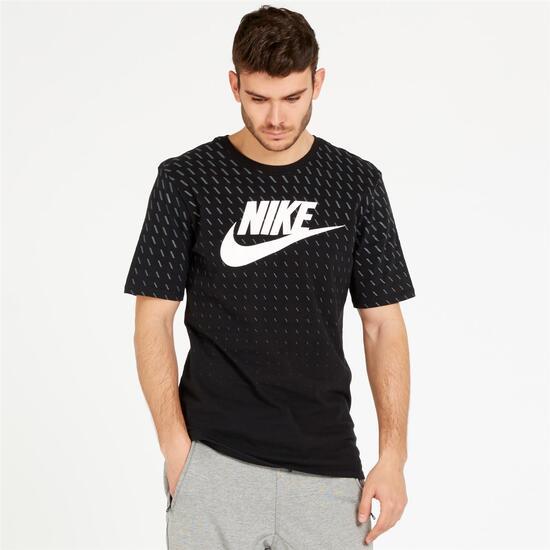 NIKE FUTURA Camiseta Manga Corta Negro Hombre