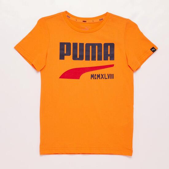Camiseta Niño Puma Naranja