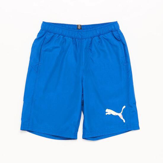 Pantalón Corto Azul Niño Puma (10-16)