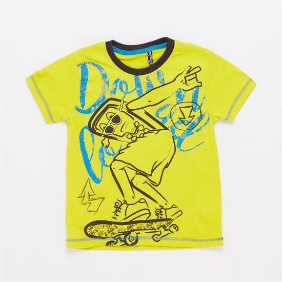 Camiseta SILVER BLACKTOP Lima Niño (2-8)