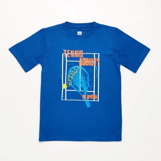 Camiseta Azul Oscurso Niño Proton