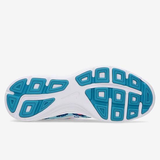 Zapatillas Running Nike Downshifter 7 Celestes Niña