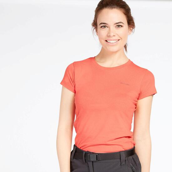 Camiseta Montaña Mujer Boriken Coral