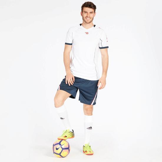 Camiseta Fútbol Blanco Marino Hombre Dafor