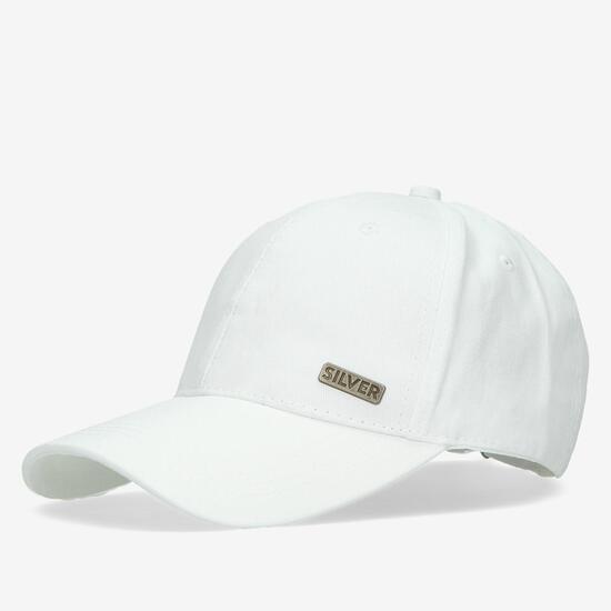 Gorra Silver Blanca
