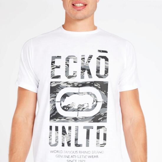 Camiseta Blanca Hombre Ecko Madison