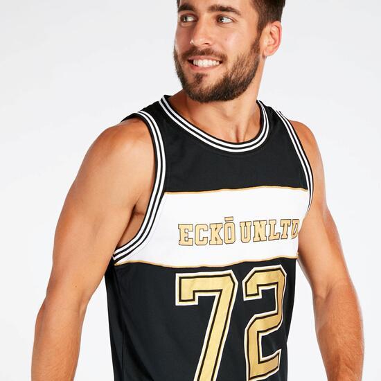 Camiseta Tirantes Negro Hombre Ecko