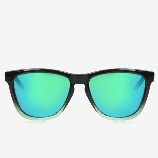 Gafas Sol Negra Verde Silver