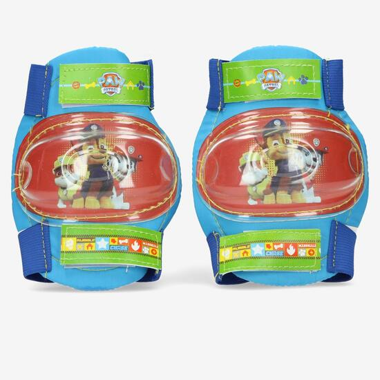 Minipatín PATRULLA CANINA + Set Protecciones Verde