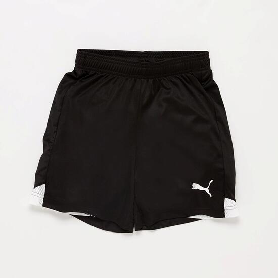 Pantalón Fútbol Puma Negro