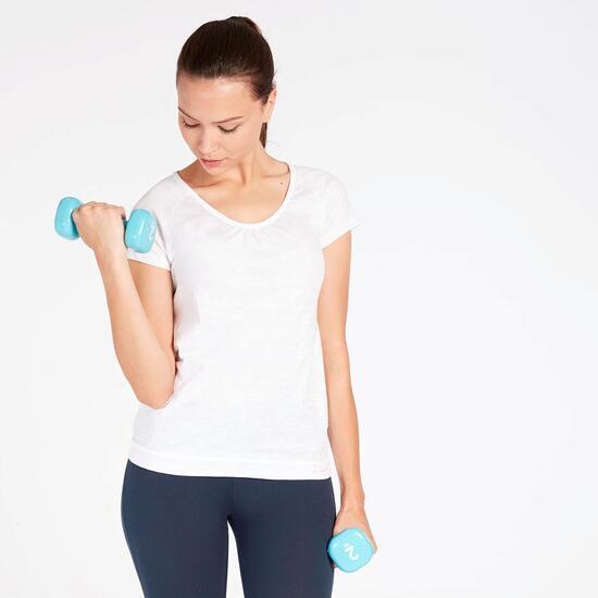 Camiseta Blanca Mujer Ilico Basic