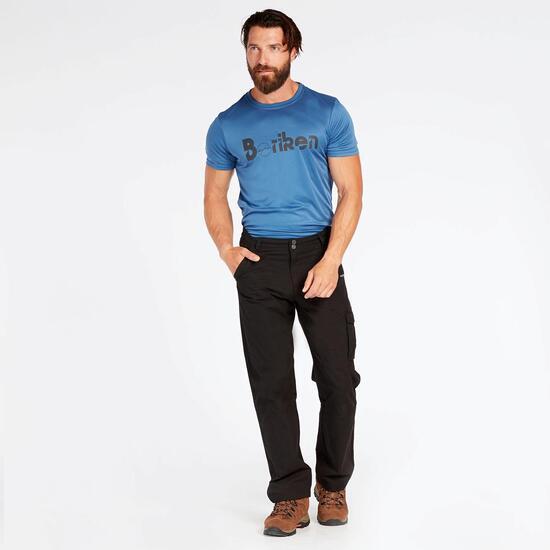 Camiseta Denim Outdoor Hombre Boriken