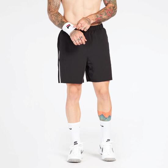 Pantalón Corto Tenis Negro Fila