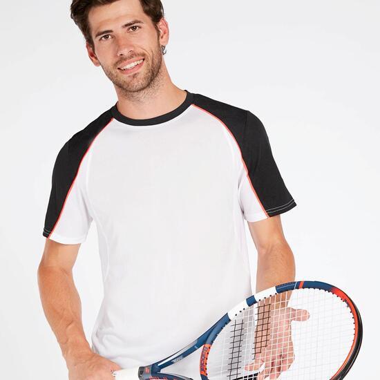 Camiseta Pádel Blanca Hombre Proton