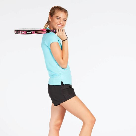 Polo Tenis Azul Celeste Mujer Proton
