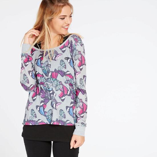 Camiseta Mariposas Silver