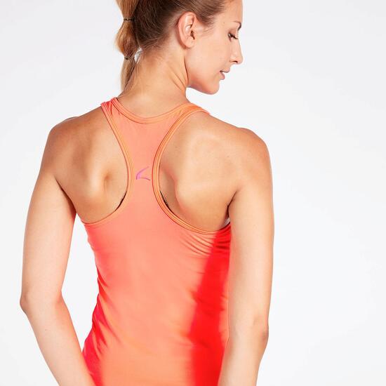 Camiseta Nadadora Coral Mujer Ílico