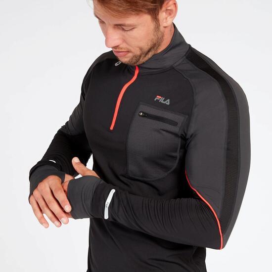 5d77ddf951 Camiseta Running Fila Performance Negra - Camiseta hombre