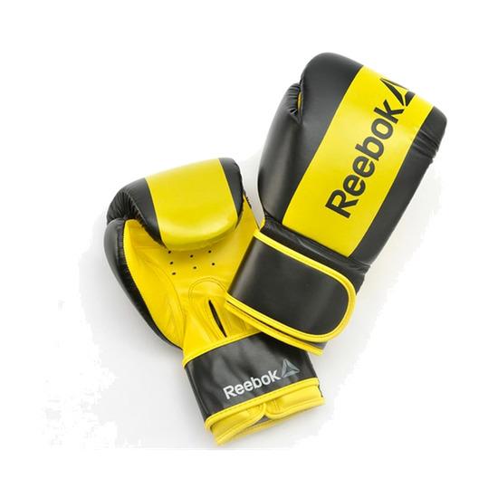 REEBOK Guantes Boxeo Amarillo Negro