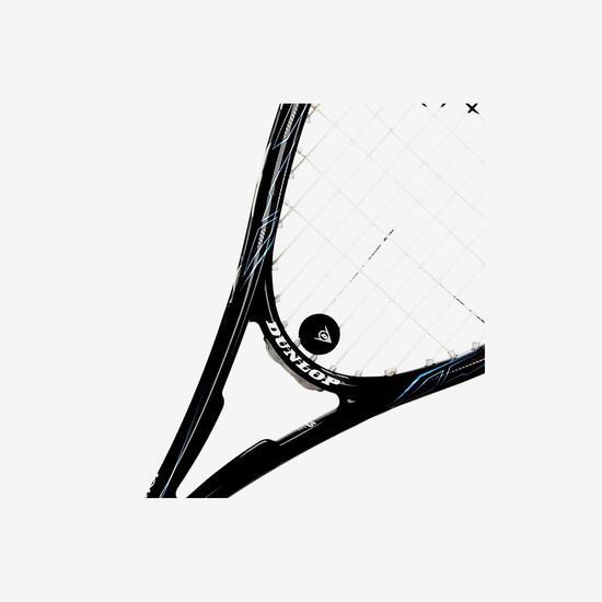 DUNLOP BLAKCSTORM CARBON 40 Raqueta Squash Negra