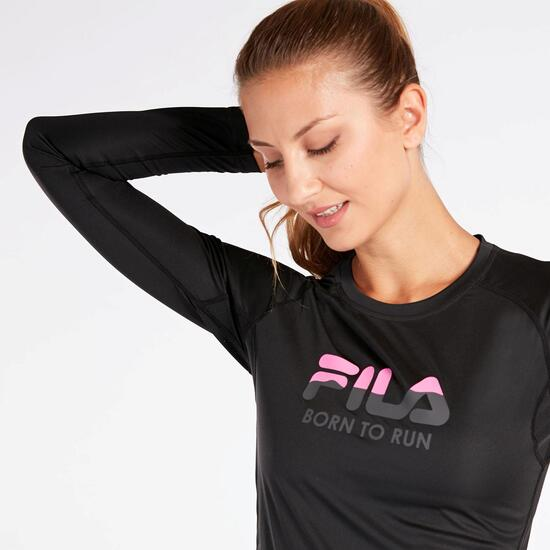 Camiseta Training Fila Negra