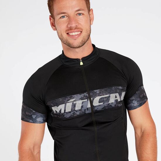 Maillot Ciclista Negro Hombre Mítical Plata