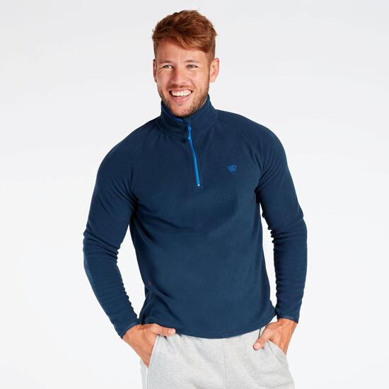 Forro Polar Azul Marino Up Basic