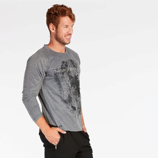 Camiseta Silver Psyco Gris