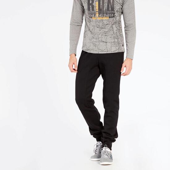 Pantalón Chándal Negro Silver