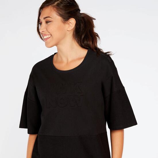 Camiseta Negra Silver