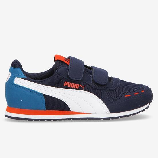 e4253fefe72 Zapatillas Puma Velcro Azul Marino Niño (28-35) - AZUL | Sprinter