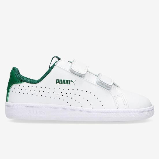 Zapatillas Puma Smash Blancas Niño (20-27)